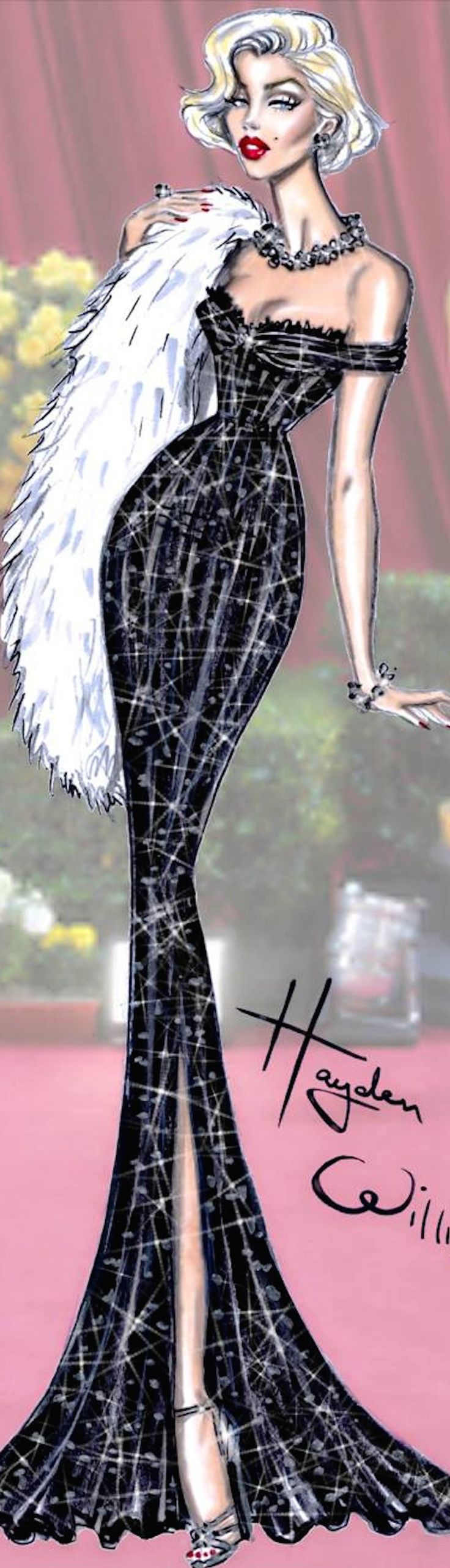 Hayden Williams Fashion Illustration | House of Beccaria#