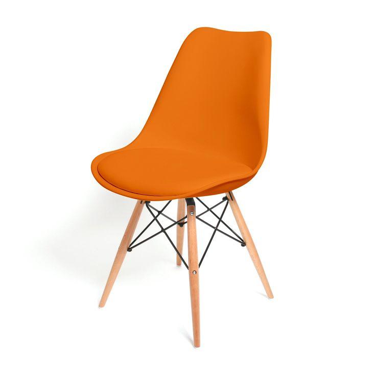 Eetkamerstoel Consilium Oranje / Hout