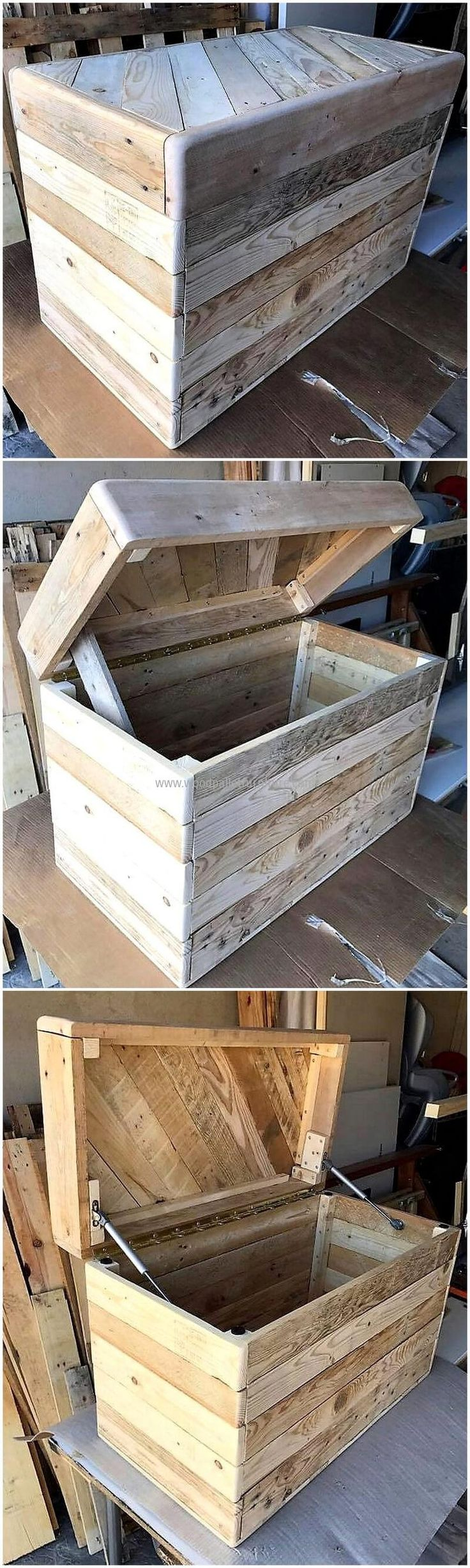 pallets made chest idea