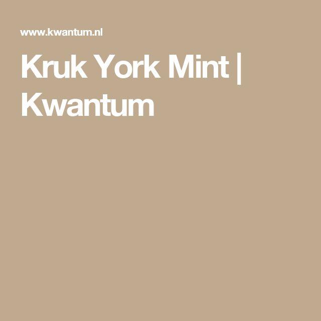 Kruk York Mint | Kwantum
