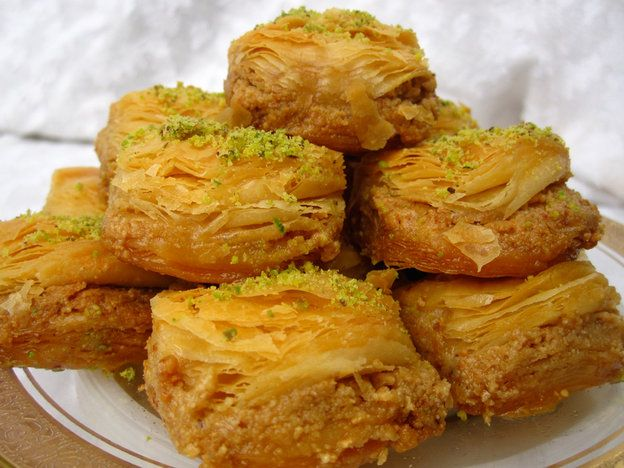 Phyllo And Nut Pastries (Baklava)