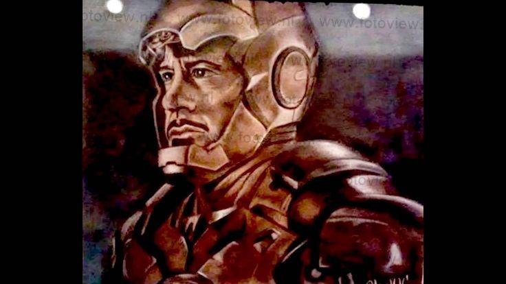 Iron Man recibe saludo de los niños