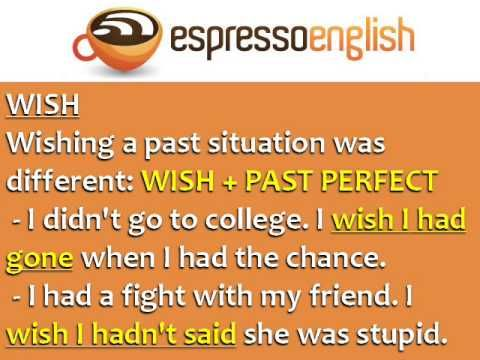 Confusing Words in English: WISH and HOPE