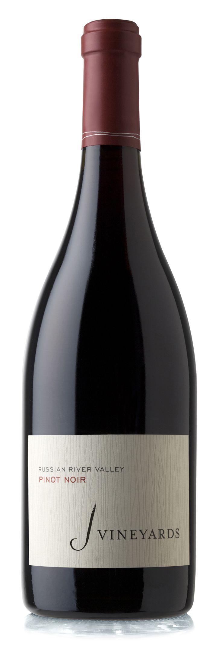 J Vineyards Pinot Noir, lush ruby-red wine that vibrantly showcases its cool-climate Russian River Valley pedigree...Aromas of rich chocolate and wild blackberry