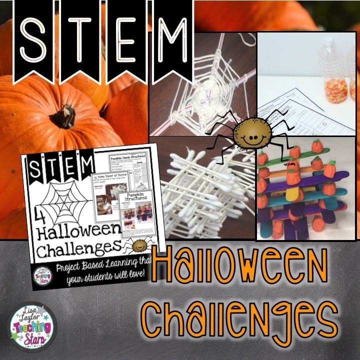 4 Halloween STEM Challenges will engage all your students during the October month. These activities can also be used for STEAM Activities, STEM After School Programs, Summer Programs, Clubs, Maker Spaces, or at home. One of the favorites is the Candy Corn Water Bottle Flipping. It is the latest trend! Even though it might drive you crazy, it will engage your students in learning about collecting data and fractions. Students will flip for this activity!