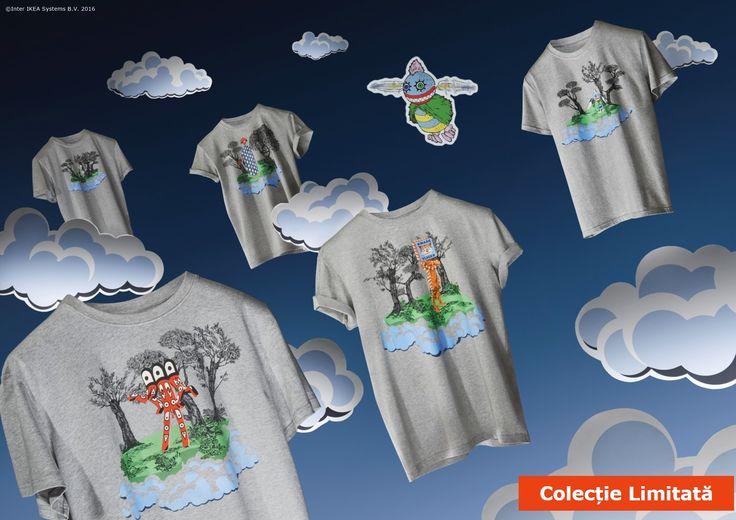 Personajele Wondermooi au coborât din căsuța lor dintre nori și aduc culoare colecției limitate GLÖDANDE. #colectiilimitateIKEA
