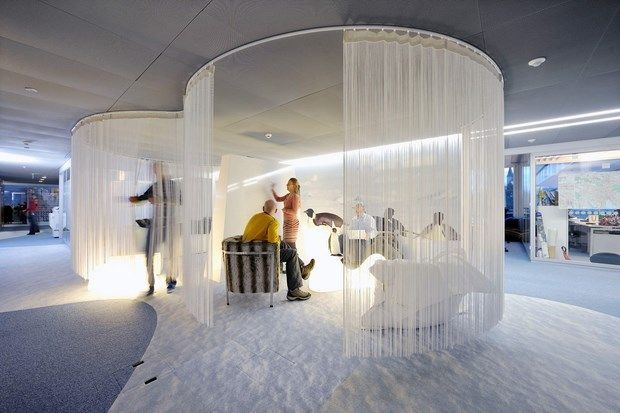 Downgraf - Imaginative Google Office of Zurich(38) wonder if mosquitos could fly through