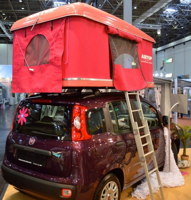 an airtop atop a fiat panda he autohome airtop uses a gas strut pop up system adventurous. Black Bedroom Furniture Sets. Home Design Ideas