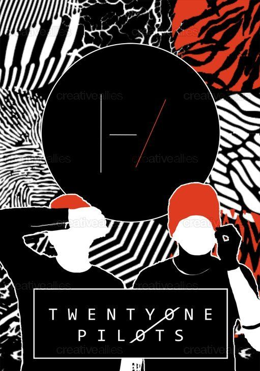 Hey, guys! I'm participating in a Design A Poster contest for Twenty One Pilots, and was wondering if you'd mind taking a peek at my entry, and possibly giving it a vote if you like it! Thanks very much!
