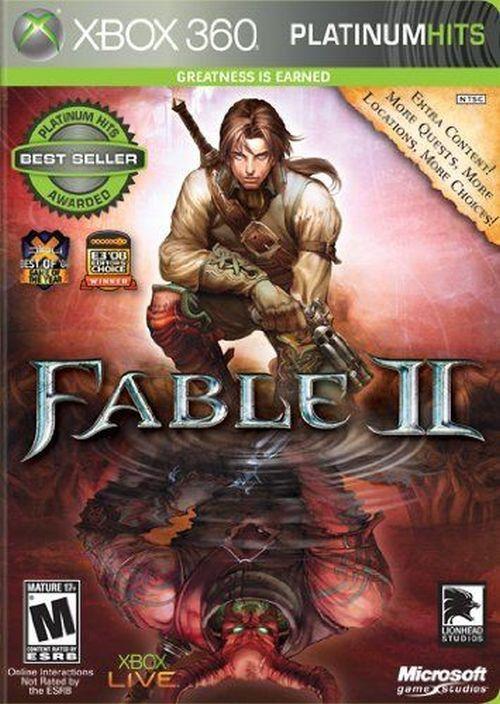 Fable II -- Platinum Hits (Microsoft Xbox 360, 2009)