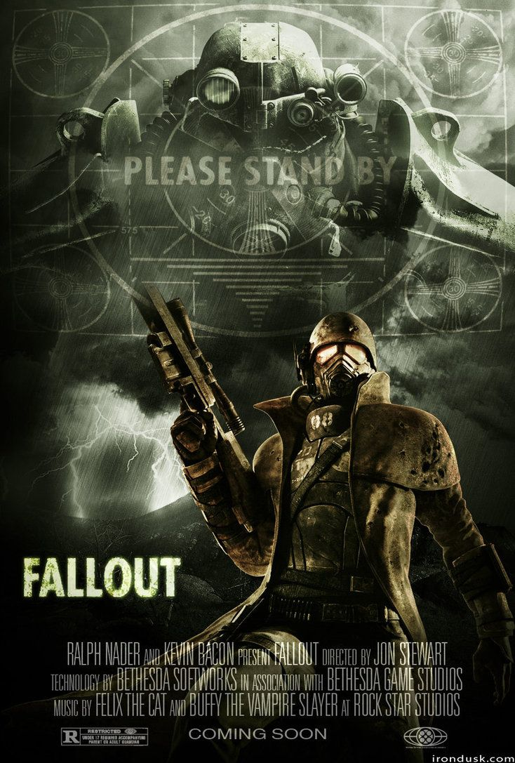 Fallout Movie Poster by ~rondus18 on deviantART