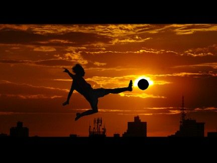 Calcio: Photos, Picture, Idea, Awesome, Sunset, Sports, Silhouette Photography, Soccer
