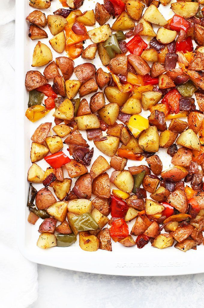 Patatas y verduras asadas para el desayuno – sin gluten – #Desayuno #free #glute …   – Patato