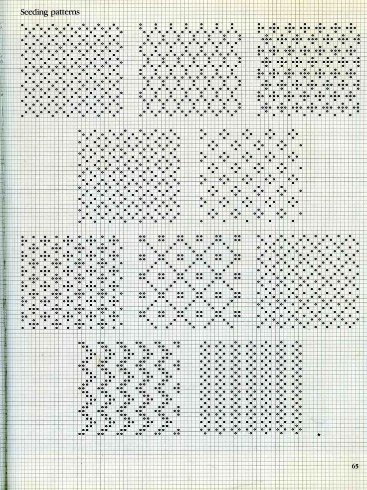 some fair isle patterns