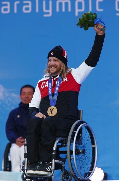 #Sochi - Caleb Brousseau - Bronze Medal - Men's Super-G