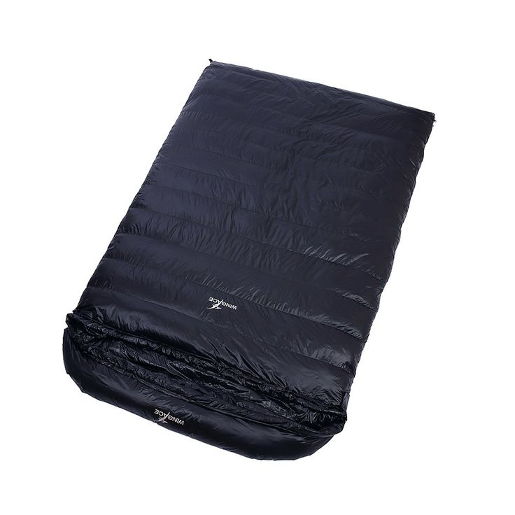 -10 Degree Duck Down Double Sleeping Bags ,1500g Fill, 3 Season, Envelope, Ultralight, with Compression Sack (Black). 1.Material:400T high-quality nylon .Adopts water-resistant. breathable and urltra-light fabric. 2.Double-sided YKK zipper , easy to use. 3.Portable,foldable and flexible.With Compression Sack. 4.90% white duck down filling, fluffy 600+. 5.Suitable temperature is 0 C ~ -10C~ -20 C Degrees Celsius.