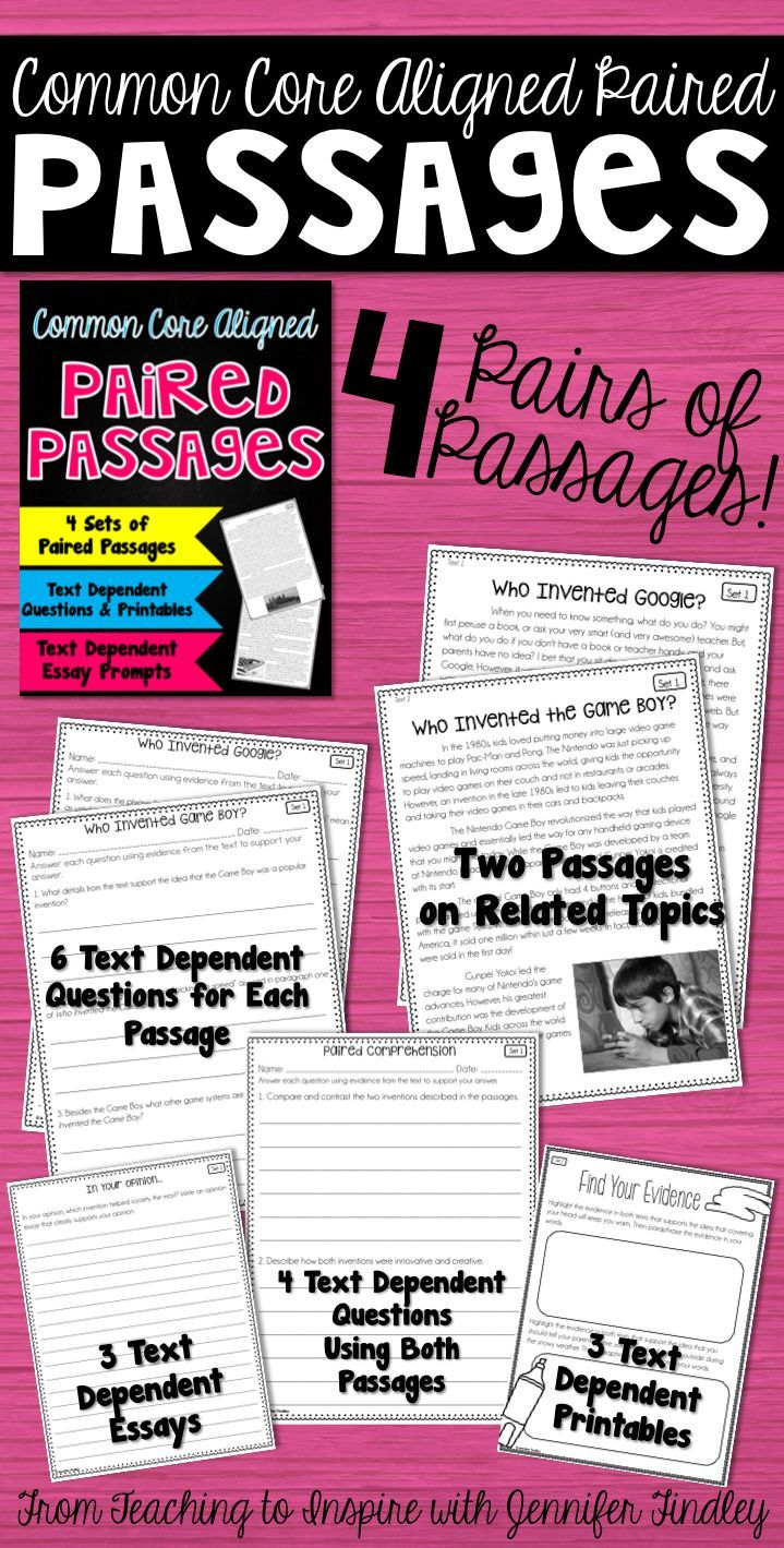 paired passage essay My students have enjoyed reading them so far, and they have served as an effective review of paired passages between fact and fiction i like most of the questions that follow the passages there are, however, a few questions in each set that are opinion based or they need more detail in the question/passage in order to be effective.