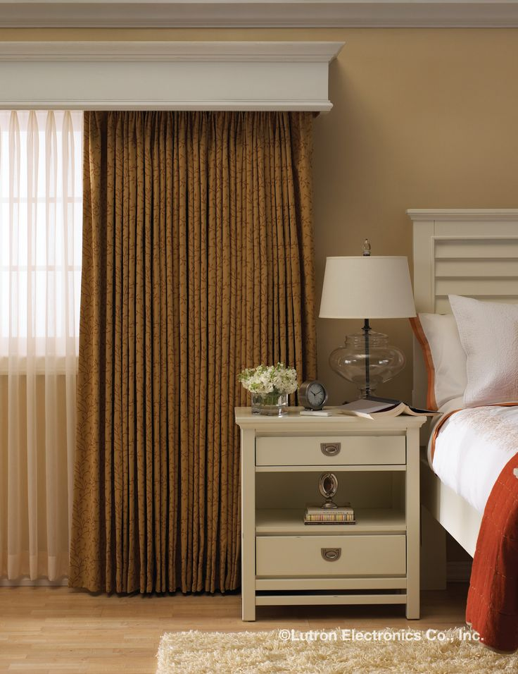 Lutron Sivoia QS Wireless Kirb Vertical Drapery System is an industry  first, drawing drapes in a vertical motion. See the Sivoia QS Wireless  Kirbe design ...