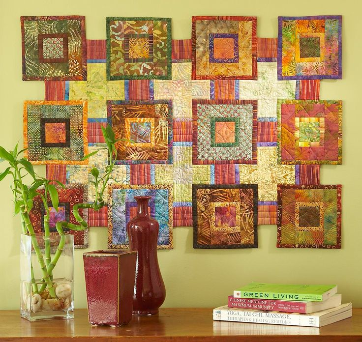 142 best Wall Hangings images on Pinterest | Quilt patterns ...