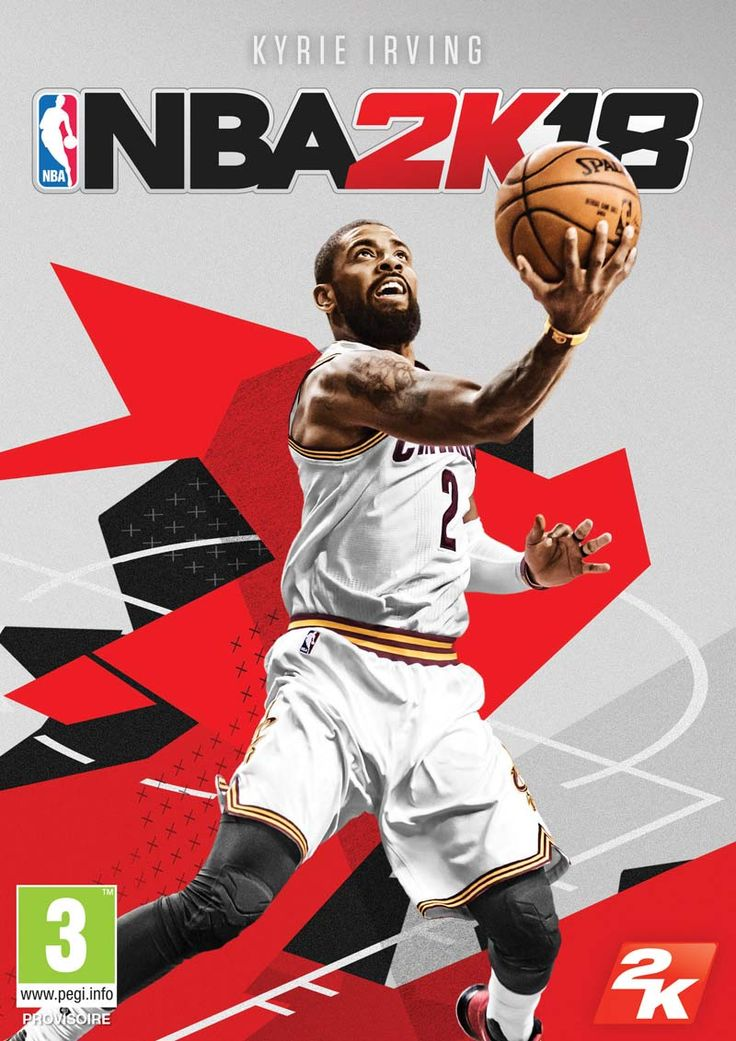 Kyrie Irving en couverture de NBA 2K18 | Basket USA
