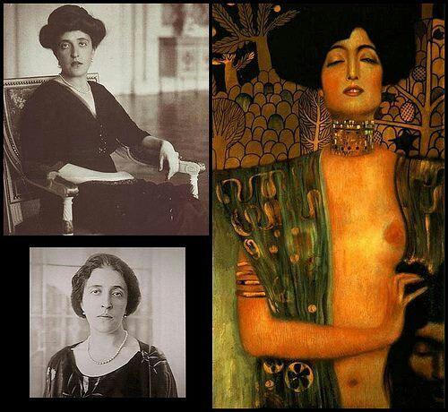1900 - Gustav Klimt model, muse Adele Bloch Bahuer