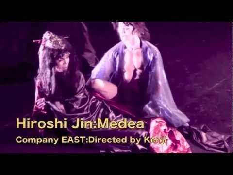 """Hiro's """"Medea"""" in NY 2007/神ひろしの「王女メディア』3:夫イアソン全裸登場"""