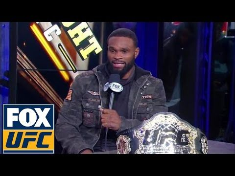 MMA Tyron Woodley ready to face Wonderboy Thompson at UFC 205 | UFC TONIGHT