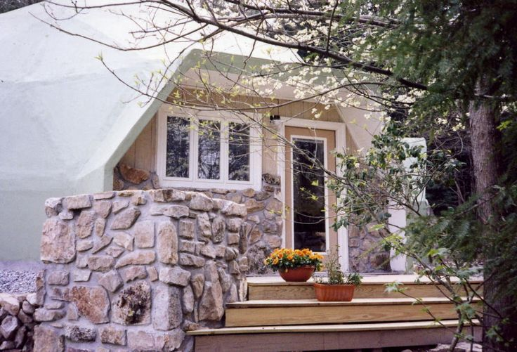 Prefab Home Kit - Geodesic Dome Home - 766 sq.ft. two bedroom / two bath home