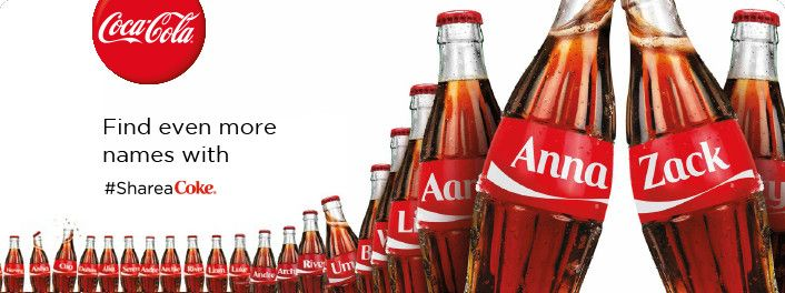 You Can Now Get a Bottle of Coke with Your Name Printed on it