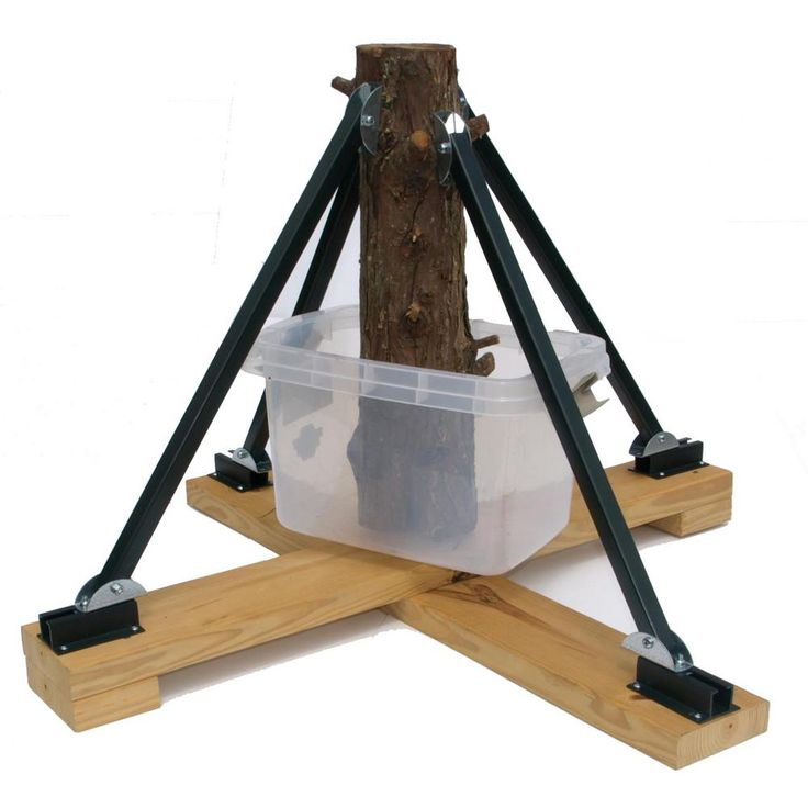 heavy duty plastic adjustable tree stand for trees up to 16 ft tall - Christmas Tree Stands
