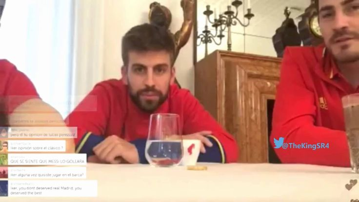 Gerard Pique on La Decima: I broke the TV when RAMOS scored in Lisbon