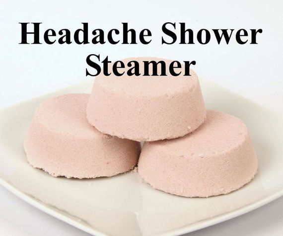 Headache Relief Shower Steamer   Shower by PinkParchmentSoaps