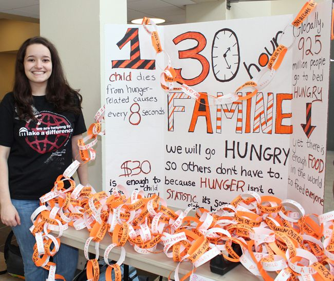 by Robert Gardner, Liberal Studies For 30 hours in early March, a group of Montgomery County Community College students went without food or drink. Members of ACE, Central Campus' community servic...