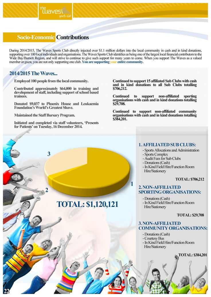 Annual Report Page 22 (Socio-Economic Fact Sheet). Would you like a design like this for your business? Email: art3sian@gmail.com