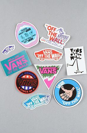 planche stickers vans