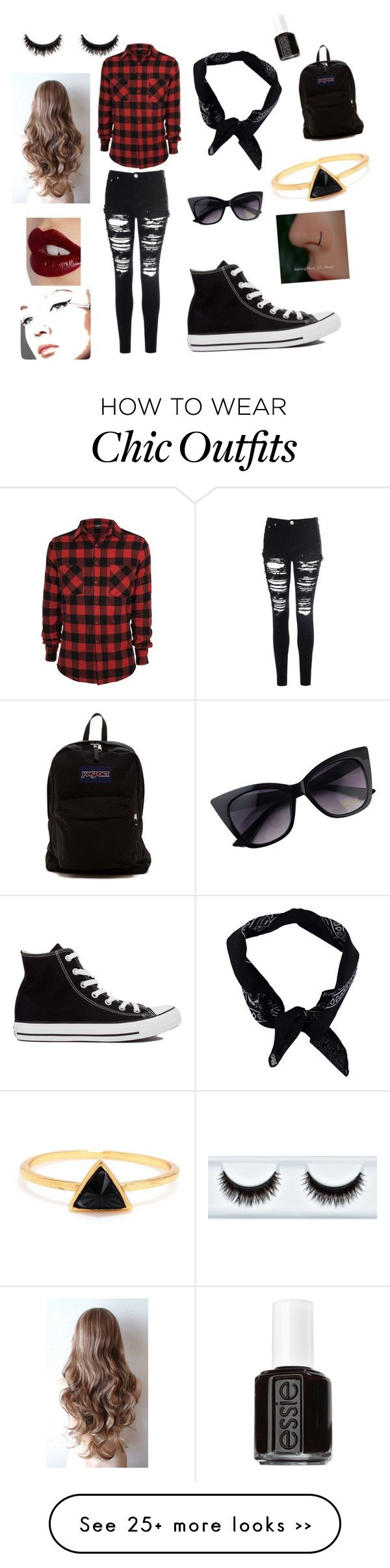 """Rock & Roll Chic"" by monkeygirlsyd on Polyvore"