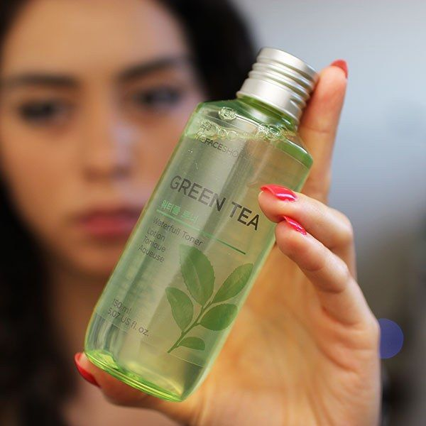 The Face Shop Green Tea Oil Free Toner