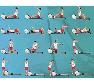 Haha, 16 ways to inefficiently use an erg #rowing #crew