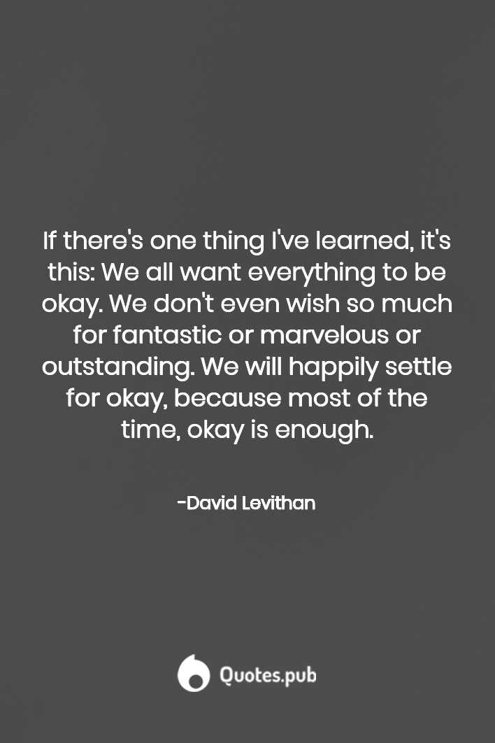 David Levithan Quotes David Levithan Everyday By David Levithan Its Okay Quotes