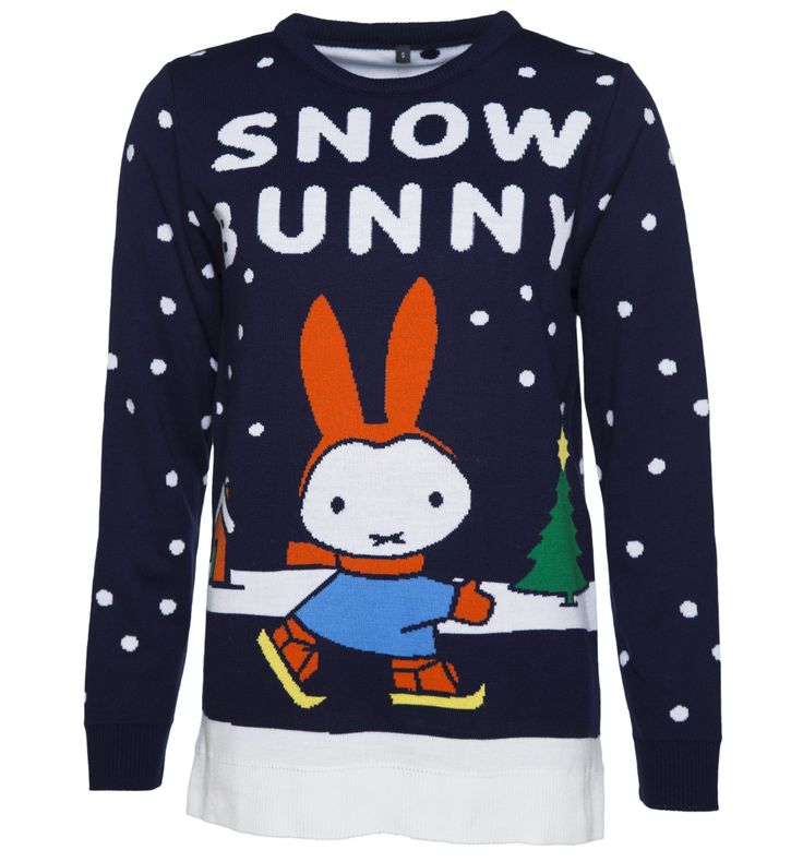 TruffleShuffle Womens Navy Miffy Snow Bunny Knitted Jumper Calling all snow bunnies - weve created the perfect cosy knit for you! Starring Dick Brunas iconic creation, Miffy, skiing through her very own winter wonderland, this exclusive jumper is not only sup http://www.MightGet.com/february-2017-3/truffleshuffle-womens-navy-miffy-snow-bunny-knitted-jumper.asp