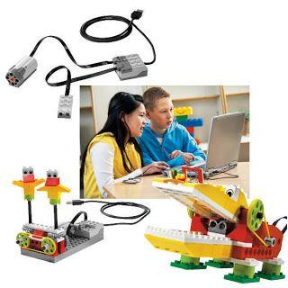 ROBOTICA EDUCATIVA y PERSONAL: con LEGO WeDo y Scratch en educación primaria
