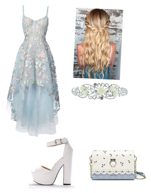 """cute #14"" by madison-kohut on Polyvore featuring Notte by Marchesa and Kate Marie"