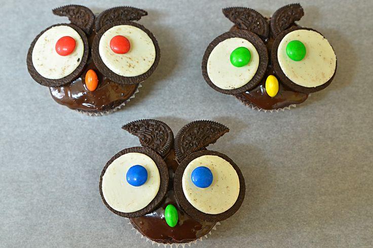 Owl muffins