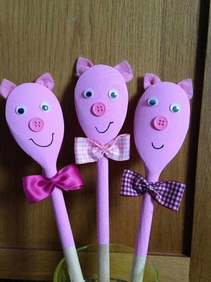 wooden spoon pig craft 264 best images about 3 pigs on see 5783