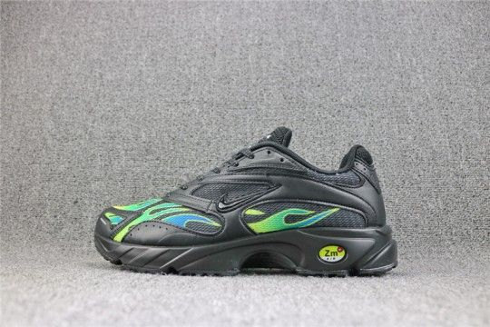 Supreme x Nike Zoom Streak Spectrum Plus Black Volt | AQ1279 001