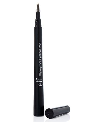 7 BEST EYELINERS.. 7.   e.l.f. Waterproof Eyeliner Pen ($1, eyeslipsface.com)..Cheap, yes, but it's a pretty good liner for $1..It can be messy if        you are not used to applying eyeliner on a regular basis and the staying power, well for me, is pretty good..I can be tough to apply and blend though