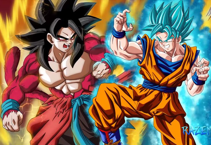 Goku Ssj4 Vs Goku Ssj3: 3260 Best DragonBall Images On Pinterest