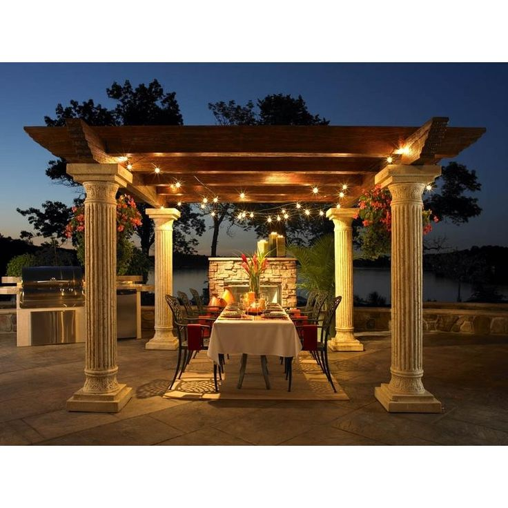 40 Modern Pergola Designs And Outdoor Kitchen Ideas: 151 Best Arches & Columns Images On Pinterest