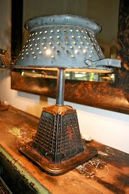 Vintage Toaster Lamp. I LOVE anything vintage and handmade