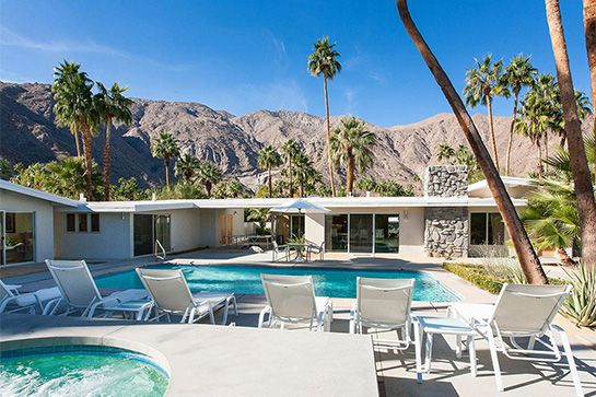 11 Coachella Dream Houses To Book Right Now #refinery29  http://www.refinery29.com/coachella-housing#slide-13  Neighborhood: Vista Las PalmasSleeps: 12Price: $1200/nightLocated in an area known as the Beverly Hills of Palm Springs, this six-bedroom home boasts the best of amenities. You may not think you need a putting green, giant chessboard, and a fire pit, but if Coachella isn't the time to live like a rock star, when is?